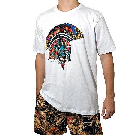 Camiseta Kevland Dragon Tattoo Branco