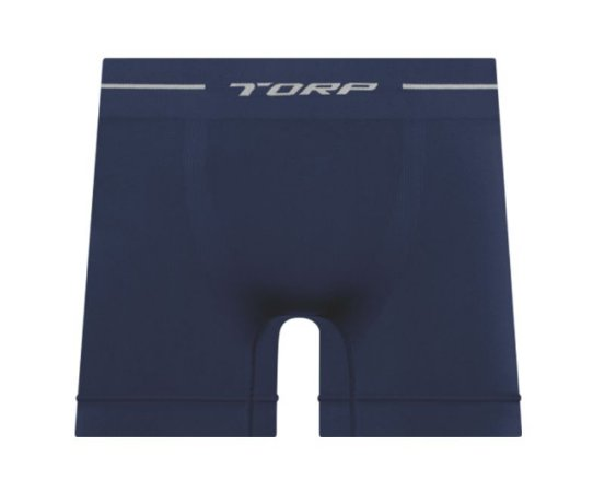 Cueca Boxer Torp Microfibra Sem Costura Marinho - Ref 8001