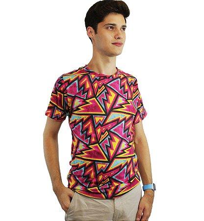 camiseta dionisio collection sicodelica balada laranja