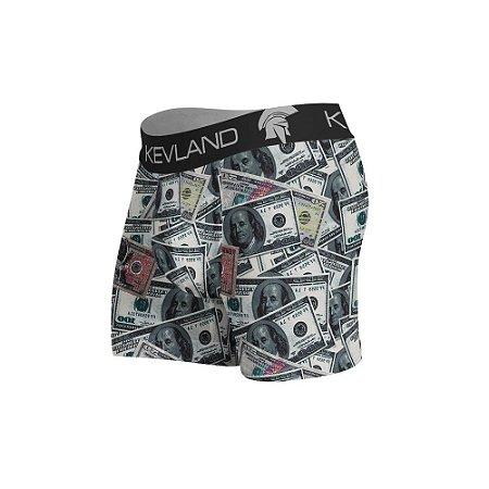 cueca boxer dólares kevland preto