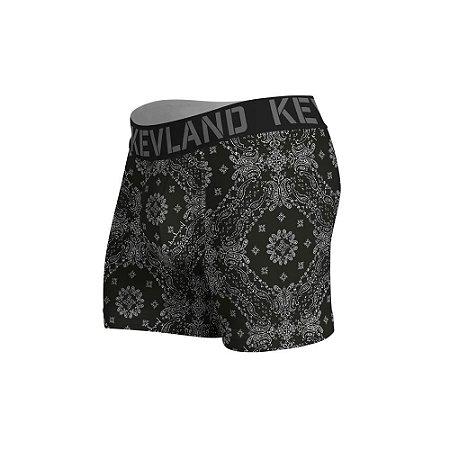 cueca boxer kevland bandana black preto