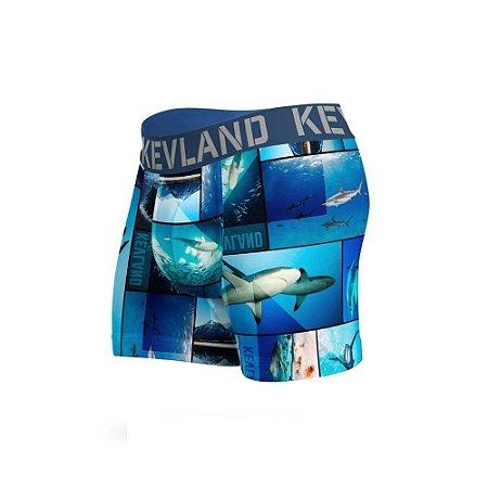 cueca boxer kevland sharks azul