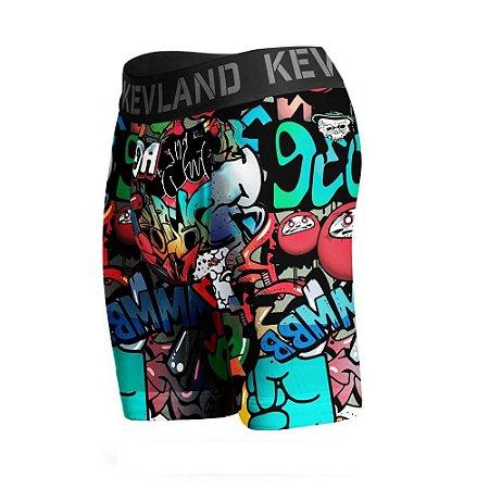 cueca boxer long leg kevland grafite