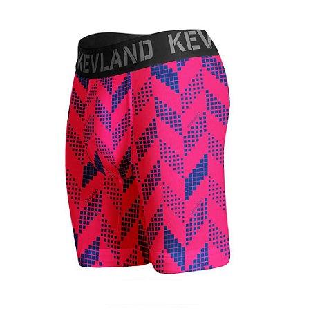 cueca boxer long leg kevland sport rosa pink crew
