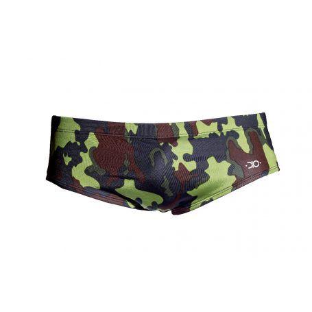sunga slip lisa dio collection 2019 militar camuflada verde