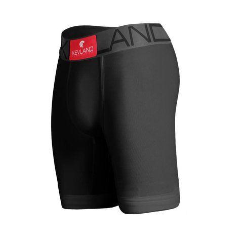 cueca boxer long leg kevland algodao preto