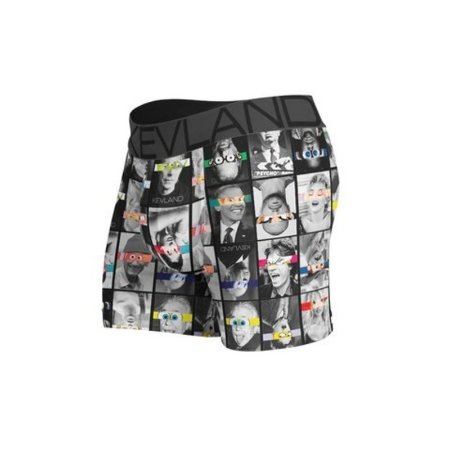 Cueca Boxer Kevland Comic Faces