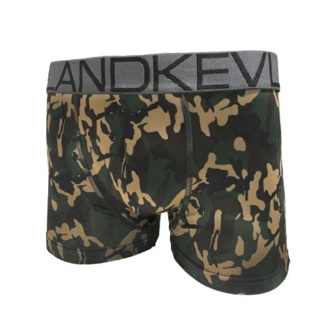 Cueca Boxer Kevland Camuflado Verde Militar