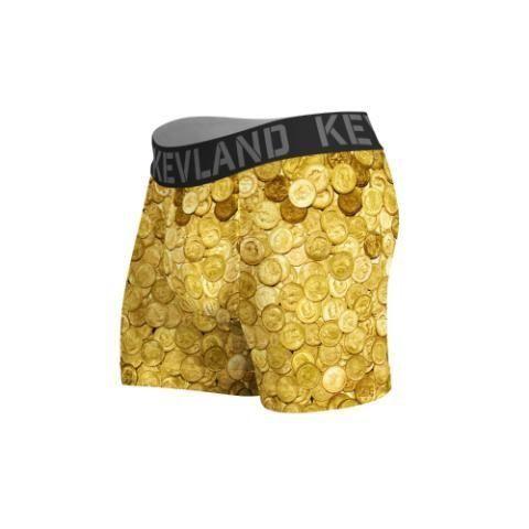 Cueca Boxer Kevland Moedas de Ouro
