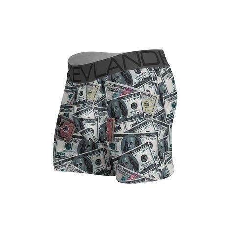 Cueca Boxer Kevland Dólares