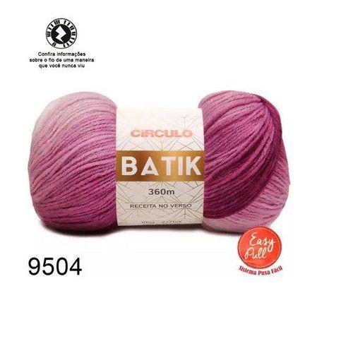 FIO BATIK CIRCULO 100G COR 9504