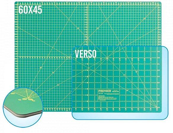 BASE DE CORTE DUPLA FACE 600x450mm PREMIER PR-12126