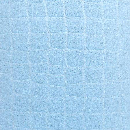 feltro Gofrê Azul Claro 5180.030 Santa Fé medida 0,40X1,40