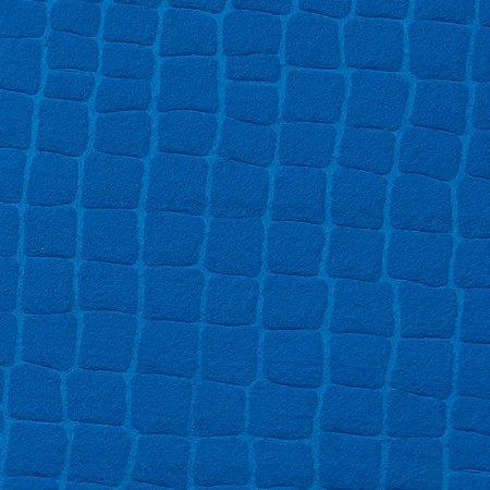 feltro Gofrê Azul Oceano 5180.083 Santa Fé medida 0,40X1,40