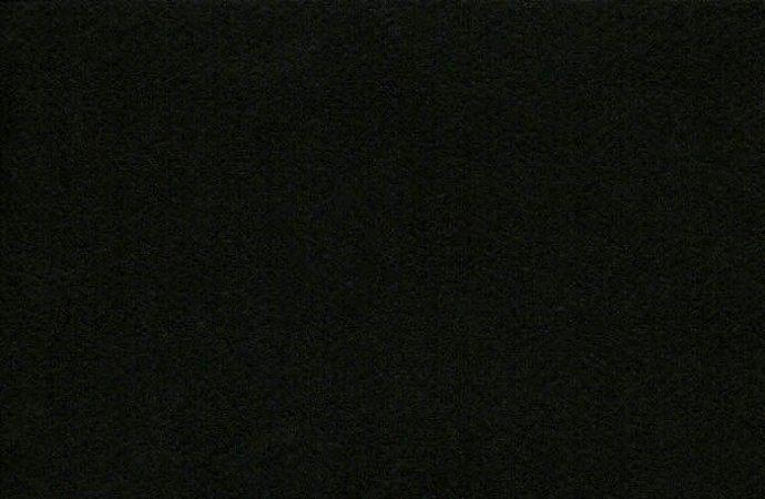 Feltro Liso Preto 34 Santa fé - Medidas 0,40x1,40