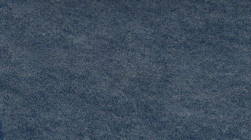 Feltro Liso Azul Jeans mescla 163 Santa fé - Medidas 0,40x1,40