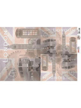 OPL - 30X45 CIDADES LONDRES REF 2401 - OPAPEL
