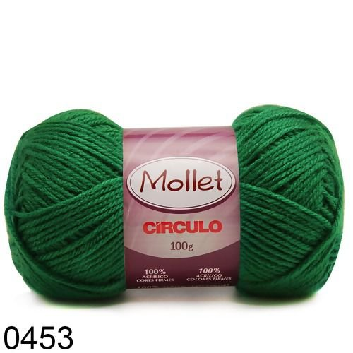 LÃ MOLLET CIRCULO 100G - COR 453