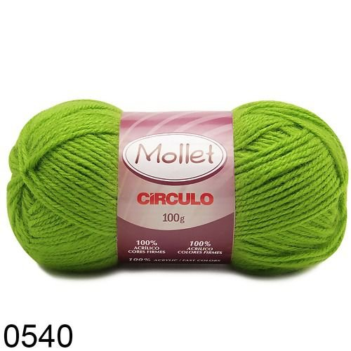 LÃ MOLLET CIRCULO 100G - COR 540
