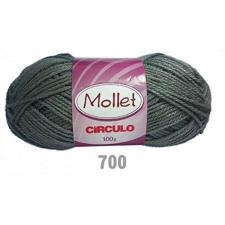FIO MOLLET CIRCULO COR 0700 100 G