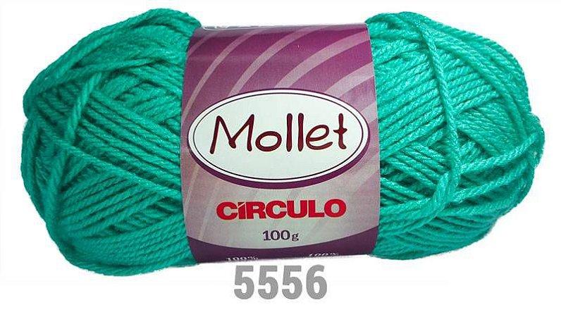 LÃ MOLLET CIRCULO 100G - COR 5556