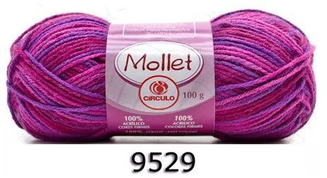 FIO MOLLET CIRCULO COR 9529 100 G