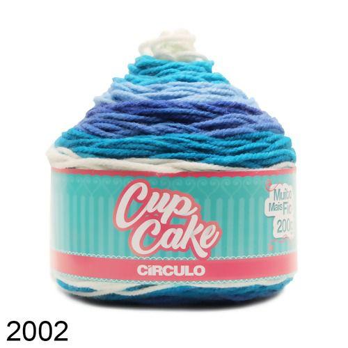 Fio CupCake Circulo 200g COR 2002