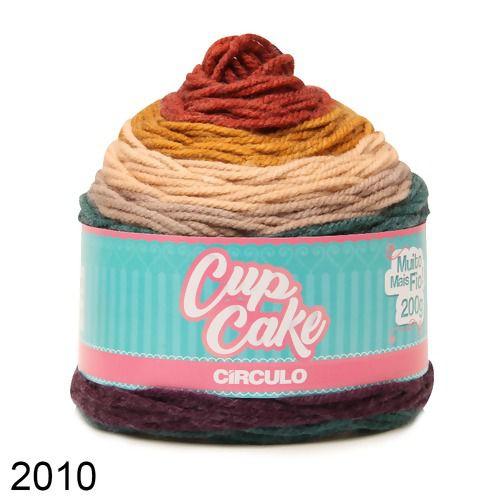 FIO CUP CAKE 200 GR CIRCULO COR 2010
