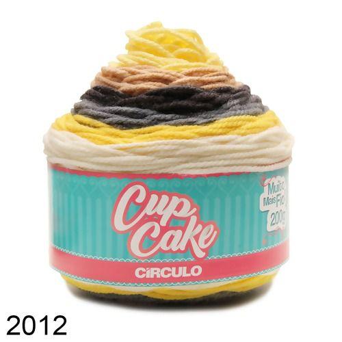 FIO CUP CAKE 200 GR CIRCULO COR 2012