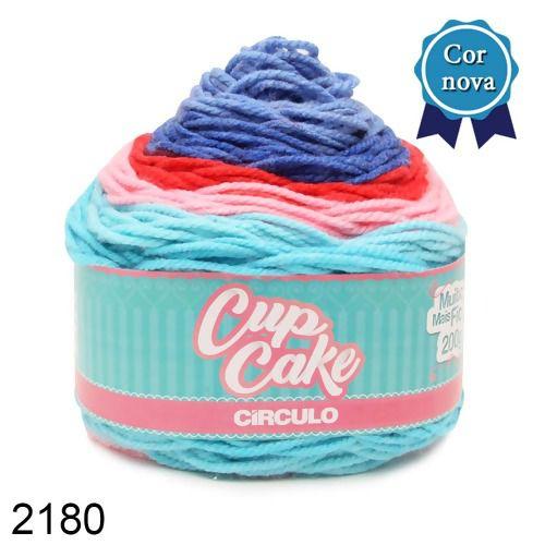 FIO CUP CAKE 200 GR CIRCULO COR 2180