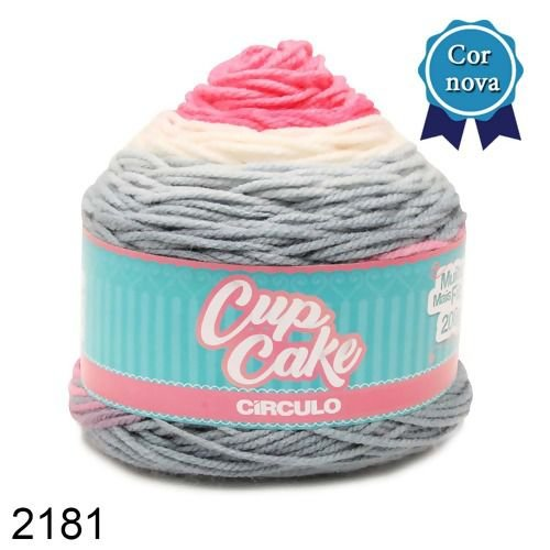 FIO CUP CAKE 200 GR CIRCULO COR 2181
