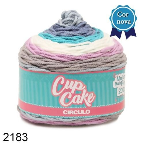 FIO CUP CAKE 200 GR CIRCULO COR 2183