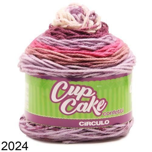 FIO CUP CAKE CONFETTI 200 GR CIRCULO COR 2024