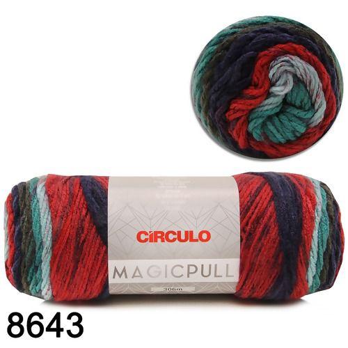 Fio Magicpull Circulo 200g COR 8643