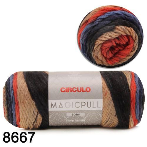 Fio Magicpull Circulo 200g COR 8667