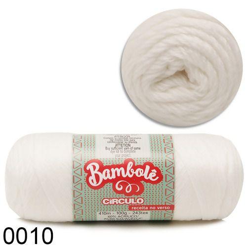Fio Bambolê Circulo 100g COR 010