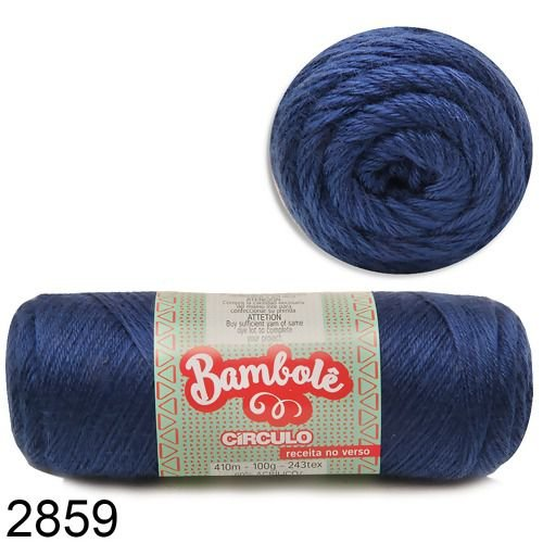 FIO BAMBOLE 410 MTS 100GR COR 2859 CIRCULO