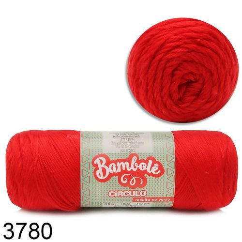 Fio Bambolê Circulo 100g COR 3780