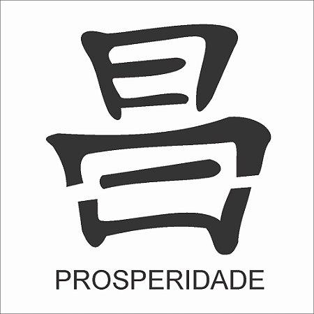 ESTENCIL 10X10 IDEOGRAMA PROSPERIDADE OPA223