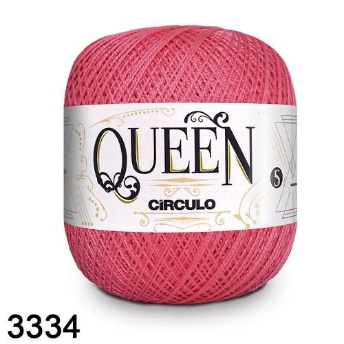 Fio Queen 5/2 Circulo 100g Tex 236 COR 3334 TULIPA