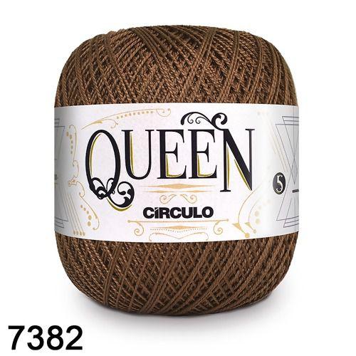 Fio Queen 5/2 Circulo 100g Tex 236 COR 7382 CHOCOLATE
