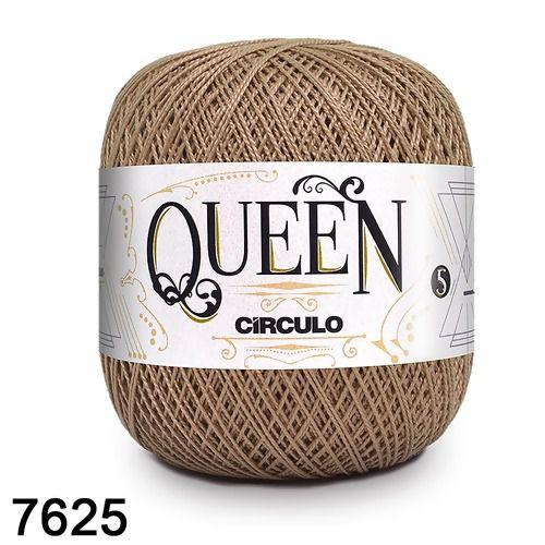Fio Queen 5/2 Circulo 100g Tex 236 COR 7625 CASTANHA