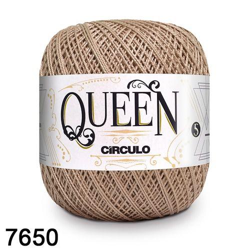 Fio Queen 5/2 Circulo 100g Tex 236 COR 7650 AMÊNDOAS