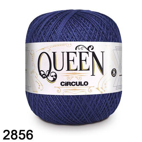 Fio Queen 8/2 Circulo 100g Tex 147,5 COR 2856 ANIL PROFUNDO
