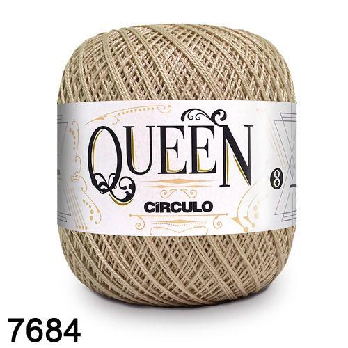 Fio Queen 8/2 Circulo 100g Tex 147,5 COR 7684 PORCELANA