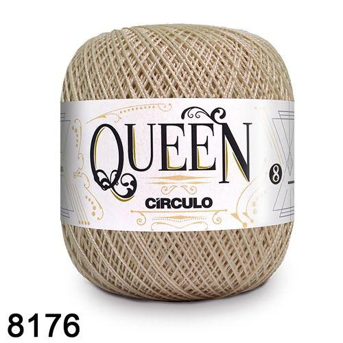 Fio Queen 8/2 Circulo 100g Tex 147,5 COR 8176 OFF WHITE