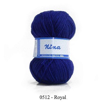 FIO NINA 40GR COR 512 ROYAL