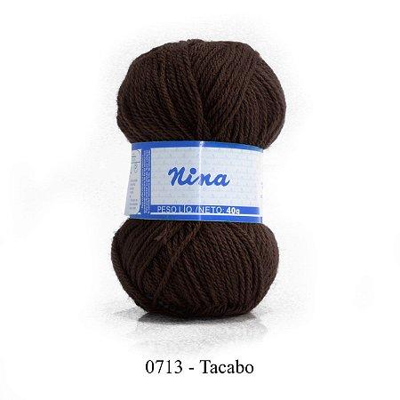 FIO NINA 40GR COR 713 TABACO