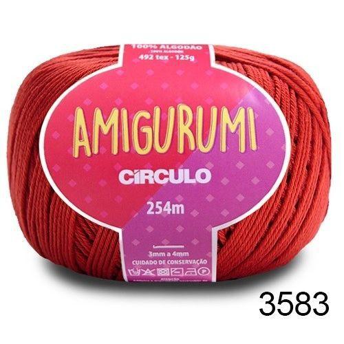 LINHA AMIGURUMI 125 G COR 3583