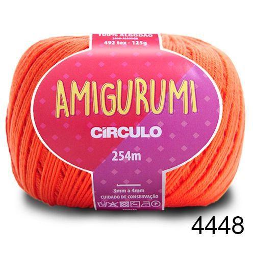 LINHA AMIGURUMI 125 G COR 4448 TIJOLO